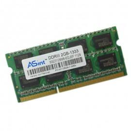 2Go RAM PC Portable SODIMM ASint SSZ3128M8-EDJEF DDR3 PC3-10600U 1333MHz CL9