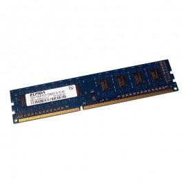 1Go RAM PC Bureau ELPIDA EBJ10UE8BDF0-DJ-F DIMM DDR3 PC3-10600U 1333MHz 1Rx8 CL9
