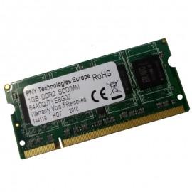 1Go RAM PC Portable SODIMM PNY Technologies 64A0QJTYE8G09 PC2-6400 DDR2 800MHz