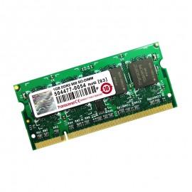 1Go RAM PC Portable SODIMM TRANSCEND JM800QSU-1G DDR2 PC2-6400 800MHz CL5