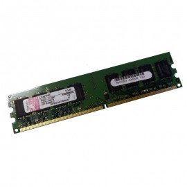 1Go Ram PC Bureau Kingston KVR533D2N4/1G DIMM DDR2 PC2-4200U 533Mhz 2Rx8