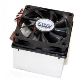 Ventirad Processeur Packard Bell 6873430500 CPU Heatsink Socket A 462 3-Pin 16cm