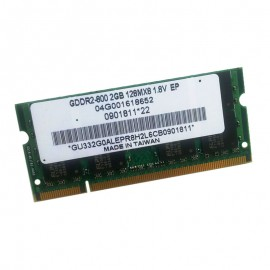 2Go RAM PC Portable SODIMM ASUS 04G001618652 DDR2 PC2-6400 800MHz 2Rx8