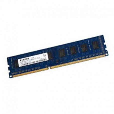 2Go RAM PC Bureau ELPIDA EBJ20UF8BDW0-GN-F DDR3 PC3-12800U 1600Mhz CL11  1Rx8 - MonsieurCyberMan