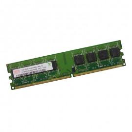 1Go Ram PC Bureau Hynix HYMP512U64CP8-S6 AB-C DDR2 800Mhz PC2-6400U 2Rx8
