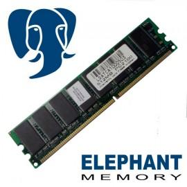 512Mo RAM PC Bureau Elephant Memory DIMM DDR1 PC2100 266Mhz Double face