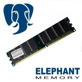 512Mo RAM PC Bureau Elephant Memory DDR PC3200 DIMM 400Mhz Double face