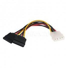Câble Adaptateur en Y SATA 6-Pin P0253 20 cm