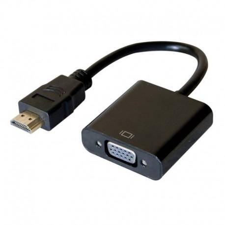 Câble Convertisseur HDMI vers VGA 051221 20cm NEUF