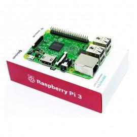 Raspberry PI 3 Modèle B 1Go RAM 64 Bit Quad Core 1.2GHz WiFi Bluetooth 4xUSB2
