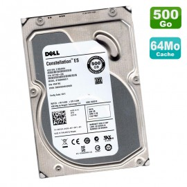 "Disque Dur 500Go SATA 3.5"" Dell ES ST500NM0011 9YZ162-036 KRATSG Constellation"