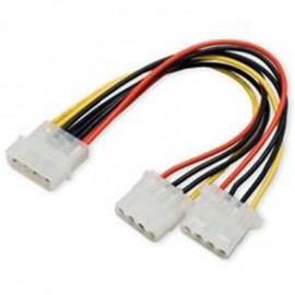 Câble Adaptateur Doubleur Molex 4-Pin Dell FOXCONN 42944 042944 14cm