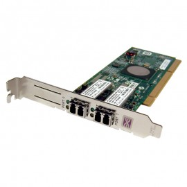 Carte Fibre Channel IBM FC1120006-01D FTLF8524E2GNL-EM Emulex Dual Port PCI-X