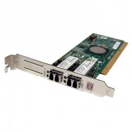 Carte Fibre Channel IBM FC1120006-01D FTLF8524E2GNL-EM Emulex Dual Port PCI-X