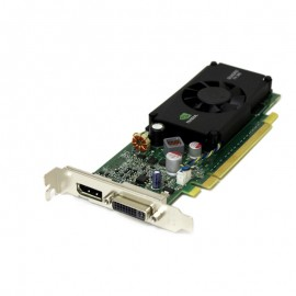 Carte Graphique NVIDIA Quadro FX380 LP PCI-e 256Mo DVI-I DisplayPort Low Profile