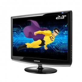 "Ecran Plat PC 23"" SAMSUNG SyncMaster 2333SW LS23CMZKFV/EN Full HD DVI-D VGA"
