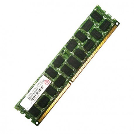 RAM Serveur DDR3-1066 Transcend PC3-8500 4GB Registered ECC CL7 TS512MKR72V1U