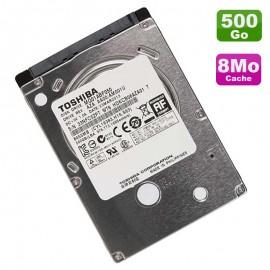 "Disque Dur 500Go SATA 2.5"" Toshiba MQ01ABF050 5400RPM Pc Portable 8Mo"