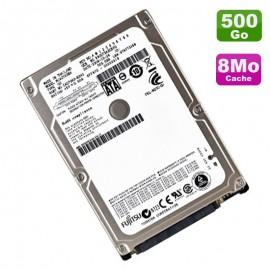 "Disque Dur 500Go SATA 2.5"" Fujitsu MJA2500BH 5400RPM Pc Portable 8Mo"
