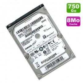 """Disque Dur 750Go SATA 2.5"""" Samsung SpinPoint HN-M750MBB 5400RPM 8Mo"""