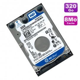 """Disque Dur 320Go SATA 2.5"""" Western Digital Blue WD3200LPVX-22V0TT0 5400RPM 8Mo"""