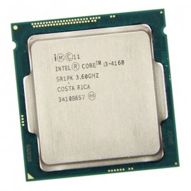 Processeur CPU Intel Core I3-4160 3.6Ghz 3Mo 5GT/s LGA1150 Dual Core SR1PK