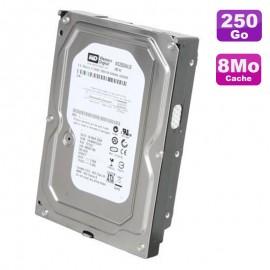 """Disque Dur 250Go SATA 3.5"""" Western Digital AV WD2500AVJS-63N9A0 7200RPM 8Mo"""