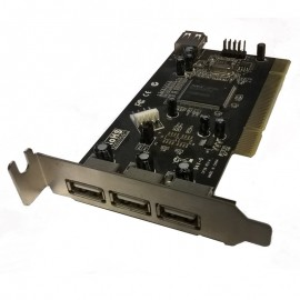 Carte Adaptateur 3+1x USB CP39 REV:A PCI 1116-CPNUSB-B1019 USB Card