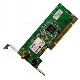 Carte Wifi ZyXEL G-302 v3 M01-WPG25-E10 2468C-G302v3 PCI 802.11g Low Profile