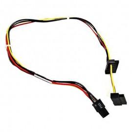 Câble Adaptateur ATX 4-Pin 2x SATA HP 628567-001 6200 6300 8100 8200 8300 Elite