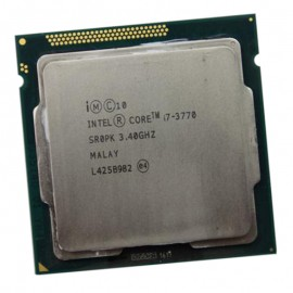 Processeur CPU Intel Core I7-3770 3.4Ghz 8Mo 5GT/s FCLGA1155 SR0PK