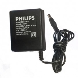 Chargeur Adaptateur PHILIPS 3440 108 33092 10V 500mA 220-230V 50Hz Power Supply