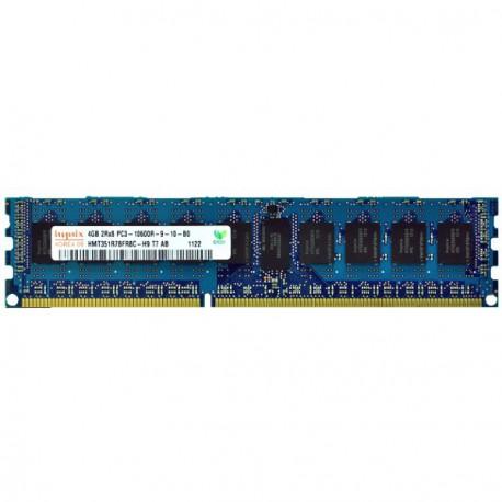 RAM Serveur DDR3-1333 Hynix PC3-10600R 4GB Registered ECC CL9 HMT351R7BFR8C-H9