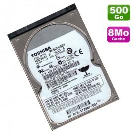 "Disque Dur 500Go SATA 2.5"" Toshiba MK5056GSY HDD2E61 5400RPM Pc Portable 8Mo"