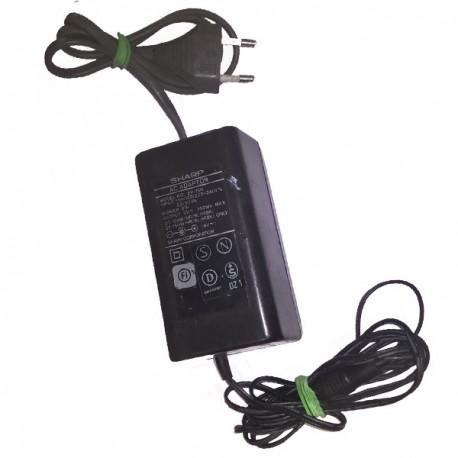 Chargeur Adaptateur Secteur SHARP EP-15H 8W 9V 0.35A QT-15HW/HR/BL/H(BK) Adapter