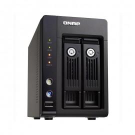 Serveur NAS Qnap TS-239 Pro II+ 2 baies USB eSATA VGA Intel Atom 1Go