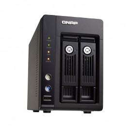Serveur NAS Qnap TS-259 Pro+ 2 baies USB eSATA VGA Intel Atom Dual Core 1Go