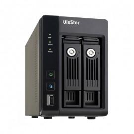 Serveur NVR VioStor VS-2108 Pro+ 2 baies USB 3.0 HDMI Intel Atom Dual Core