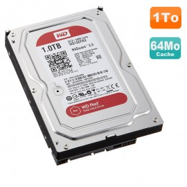 "Disque Dur 1To Western Digital NASware 3.0 SATA 3.5"" WDRED WD10EFRX-68PJCN0 64MB"