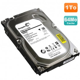 "Disque Dur 1To Seagate Video SATA 6Gb-s 3.5"" HDD ST1000VM002 5900RPM 64Mo"