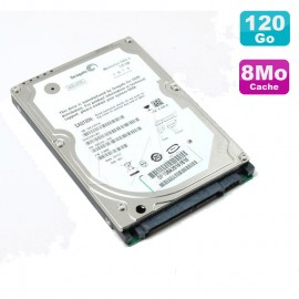 "Disque Dur 120Go SATA 2.5"" Seagate Momentus ST9120817AS 5400RPM Pc Portable 8Mo"