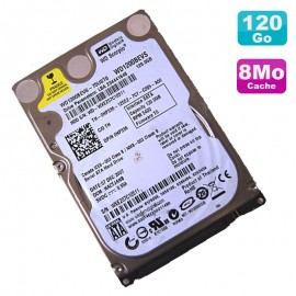 "Disque Dur 120Go SATA 2.5"" Western Digital Scorpio WD1200BEVS 75UST0 Pc Portable"