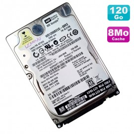 "Disque Dur 120Go SATA 2.5"" Western Digital Scorpio WD1200BEVS 08RS Pc Portable"