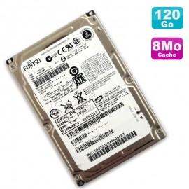 "Disque Dur 120Go SATA 2.5"" 150 Series Fujitsu MHW2120BH Pc Portable 8M 5400 RPM"