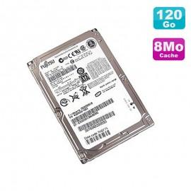 "Disque Dur 120Go SATA 2.5"" Fujitsu MHW2120BH CA07018 B31300C1 Pc Portable 8M"