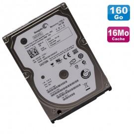 """Disque Dur 160Go SATA 2.5"""" Seagate Momentus 7200.3 ST9160411ASG Pc Portable 16Mo"""