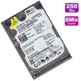 "Disque Dur 250Go SATA 2.5"" Western Digital Scorpio WD1200BEVS-75RST0 PC Portable"