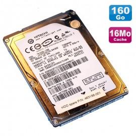 """Disque Dur 160Go SATA 2.5"""" Hitachi HTS723216L9A360 0A58103 Pc Portable 16Mo"""