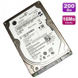 "Disque Dur 200Go SATA 2.5"" Seagate Momentus ST9200420ASG 9FWG44-031 Pc Portable"