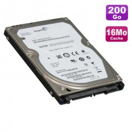 "Disque Dur 200Go SATA 2.5"" Seagate Momentus ST9200420AS 9FW144-021 Pc Portable"
